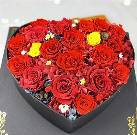 LUCKY CLOVER-A Flores preservadas, Real Rose, Aniversario ...