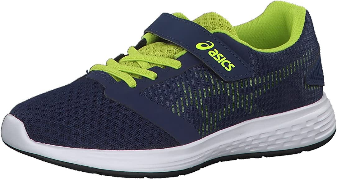 Asics Patriot 10 PS, Zapatillas de Running Unisex Niño, Azul (Deep Ocean/Flash Yellow), 28.5 EU: Amazon.es: Zapatos y complementos