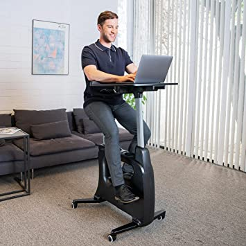 Awesome Flexispot Home Office Standing Desk Exercise Bike Height Adjustable Cycle Deskcise Pro Short Links Chair Design For Home Short Linksinfo