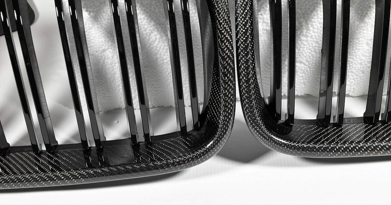 MAX AUTO Carbon Front Grill Nieren K/ühlergrill passend f/ür X3 LCI F25 X4 X4M F26