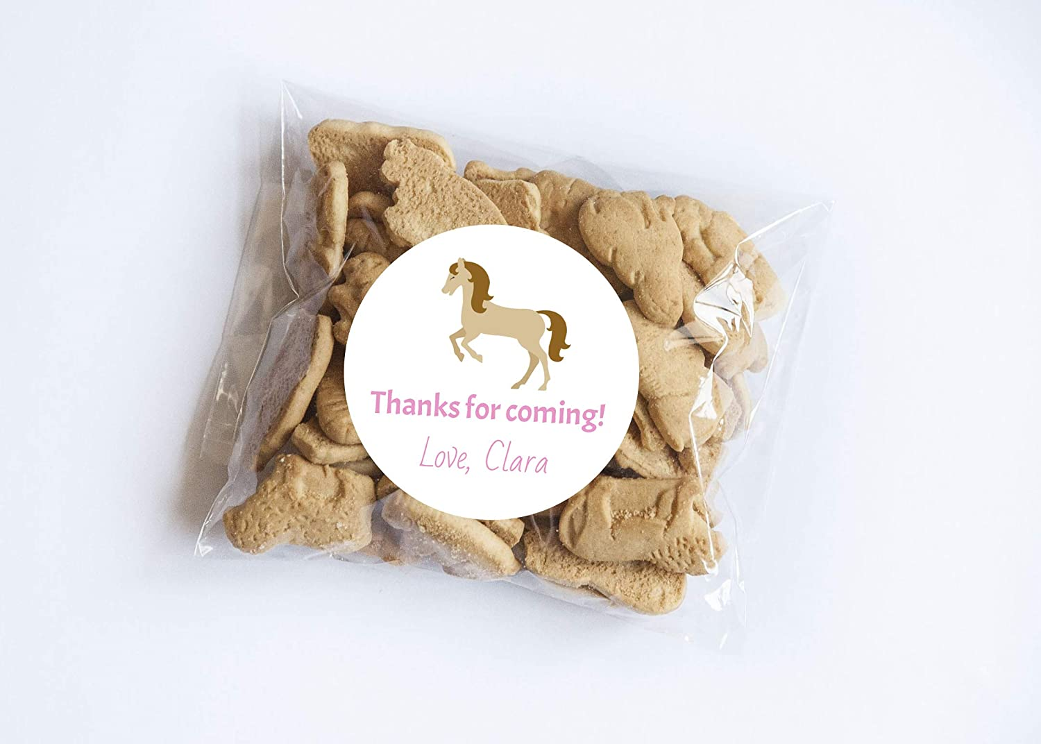 Horse Thank You Stickers Set of 20