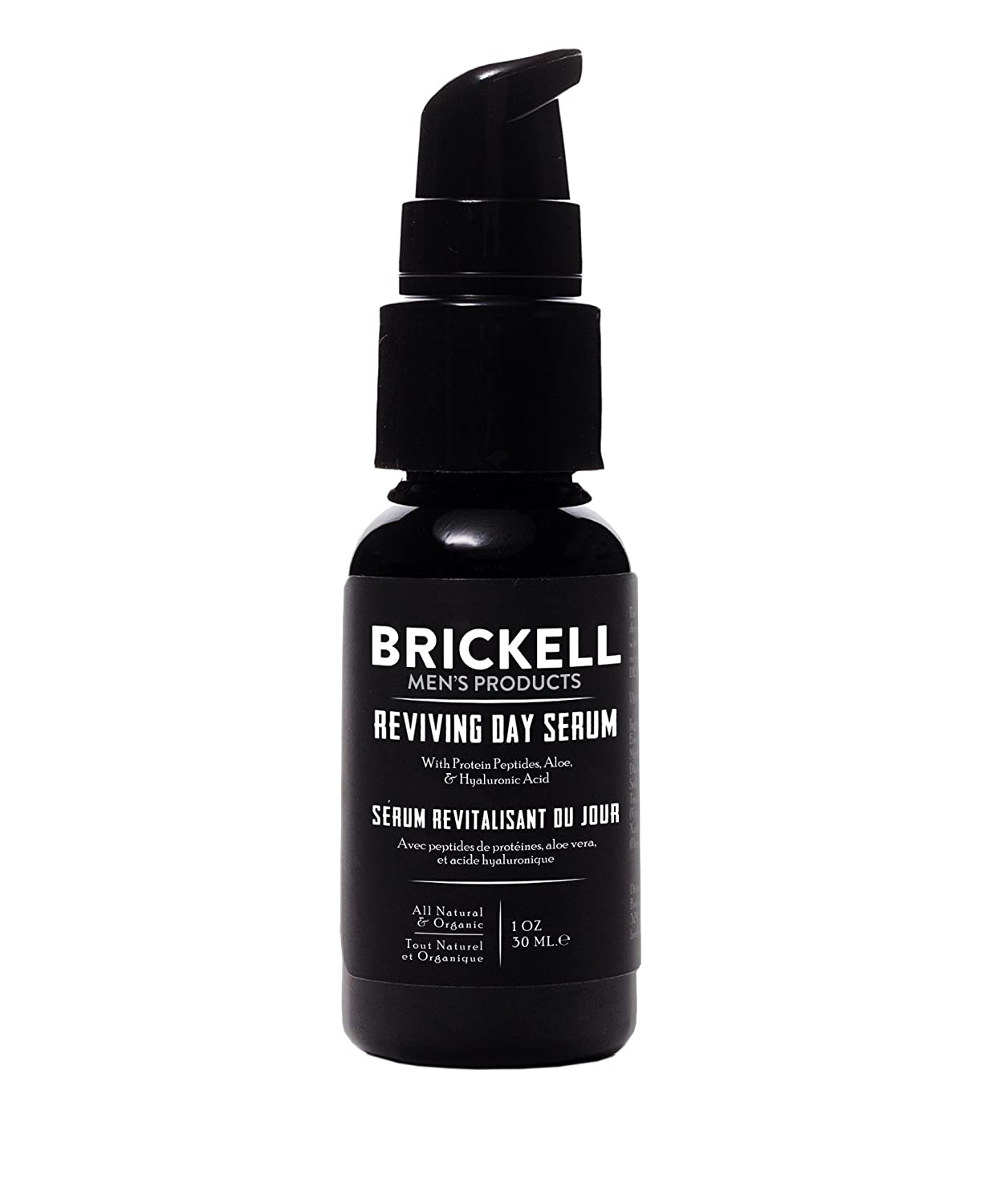 Brickell Men's Anti Aging Reviving Day Serum for Men - Natural & Organic - 1 oz (Scented) Brickell Men's Products