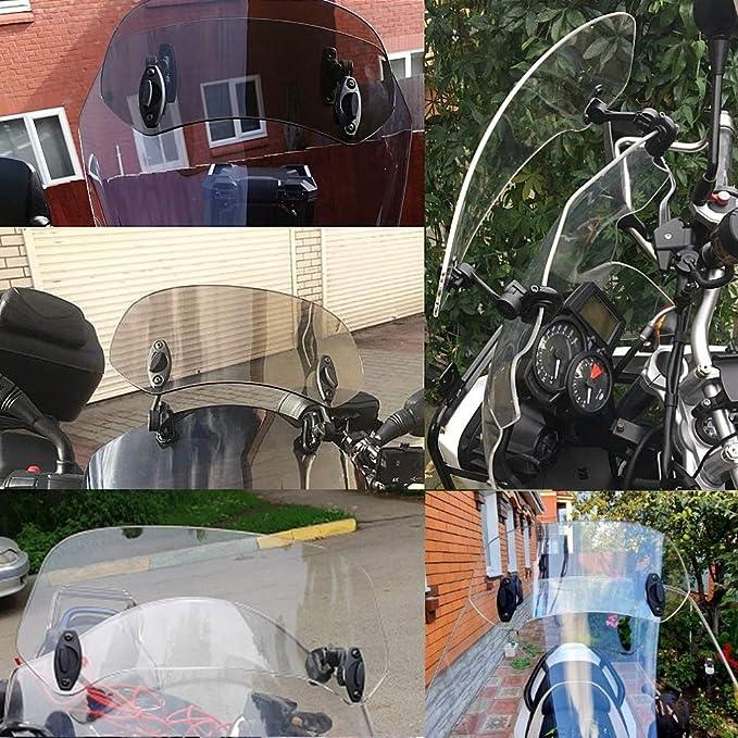 Sxgkyy Motorrad Windschutzscheibe Spoiler Motorrad Windschutz Windschutzscheibe Spoiler Luftleitblech Fit For Bmw R1250gs R1200gs Lc K50 R 1200 Gs Adventure Lc S1000xr R1200rs Motorrad Zubehör Küche Haushalt