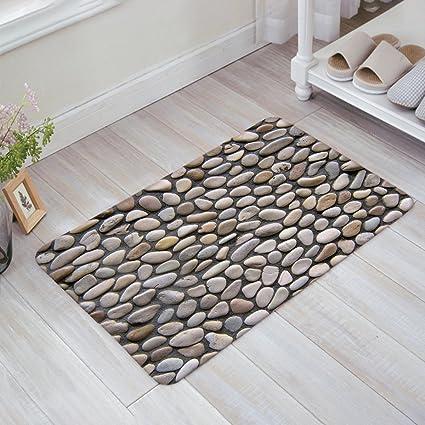 Infinidesign Welcome Doormat Kitchen Floor Bath Entrance Mat Rug Indoor Front Door Thin Mats Rubber