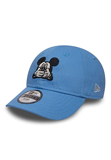 Casquette Bébé 9FORTY Disney Expression Mickey Mouse bleu NEW ERA -  Nourrisson - Taille Unique f80844fbf70