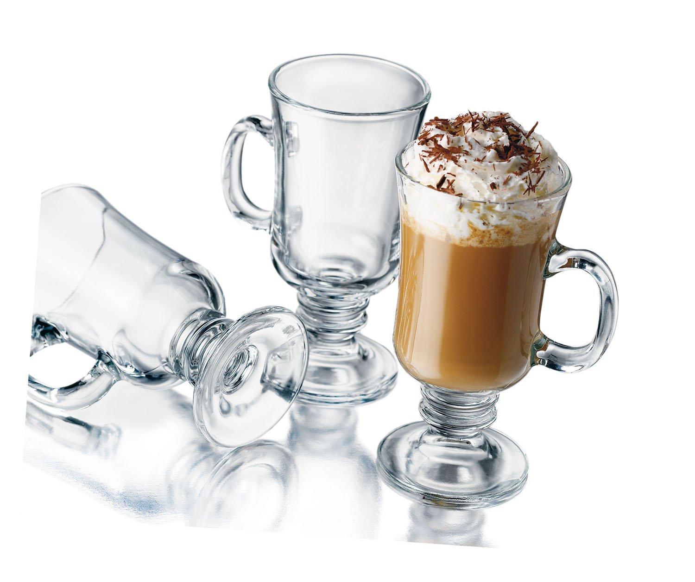 Libbey 8-1/2-Ounce Irish Coffee Mug, 4-Piece Set