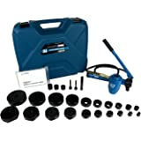 """TEMCo TH0037 4"""" HYDRAULIC KNOCKOUT PUNCH Electrical Conduit Hole Cutter Set KO Tool Kit 5 Year Warranty"""