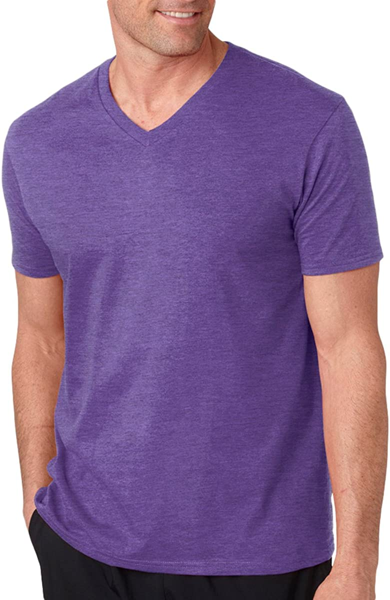 Gildan Men's Double Needle Taped Neck Hem T-Shirt