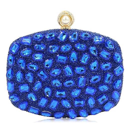 HG&&Bolsas De Embrague para Mujer Rhinestone Diamante ...