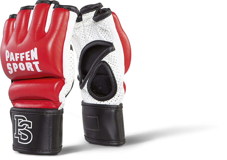 Wing Tsun Selbstverteidigung etc. Paffen Sport Contact Leder MMA-Handschuhe f/ür Krav MAGA