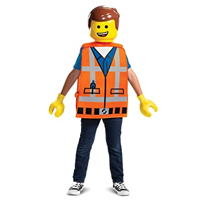 Disguise - Lego Movie 2: Emmet Basic Child Costume: Toys & Games