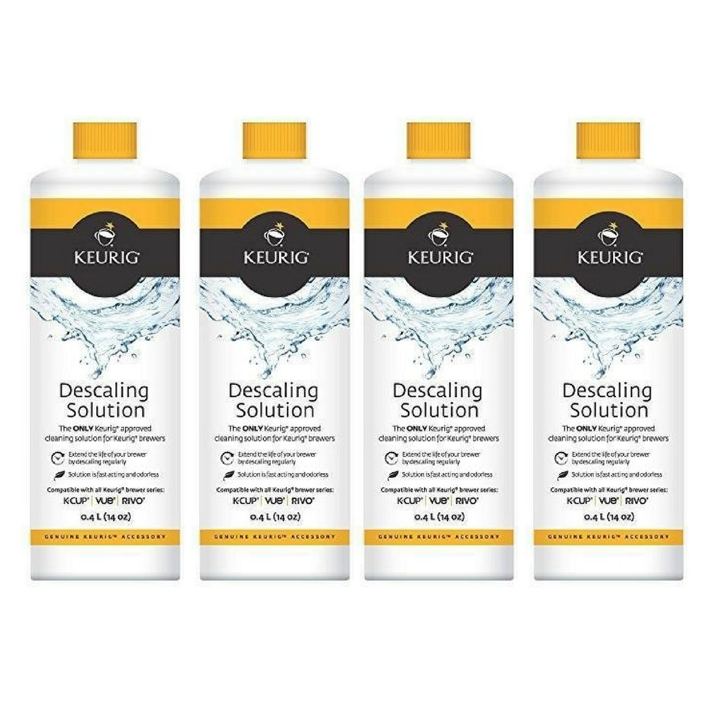 Keurig Descaling Solution New (4 Pack) by Keurig 1