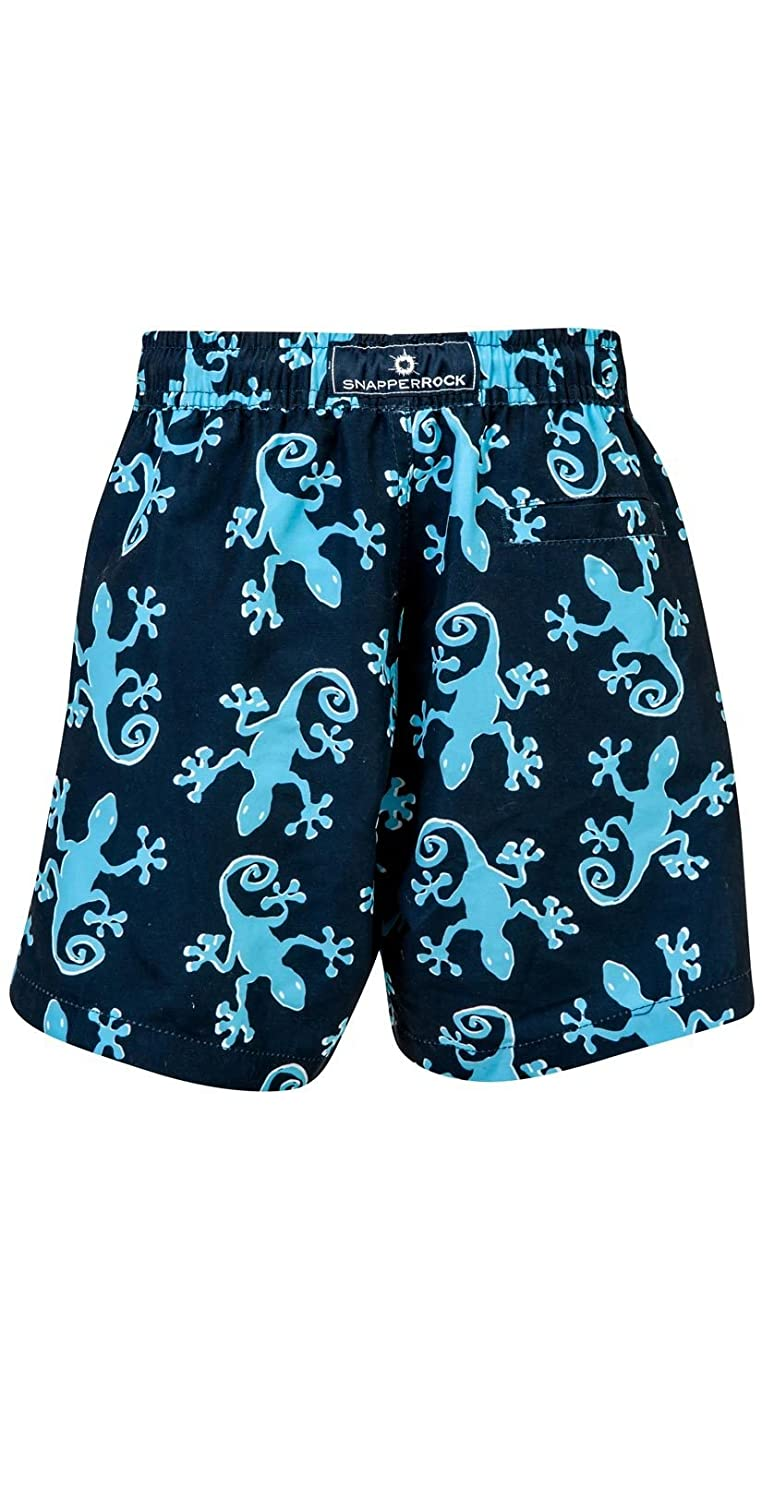 B90033P Snapper Rock Boys Gecko Pool Boardie Swimsuit With UV50+