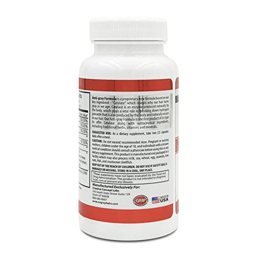 Catalase XP with 10,000IU of Catalase Enzyme, Strongest & Most Effective Supplement Formula on...