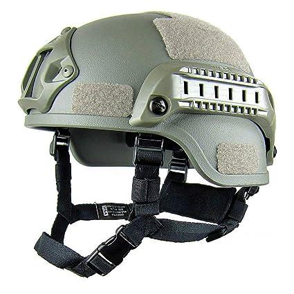Amazon.es: OLEEKA Militar Casco rápido Montar Biker Cascos ...