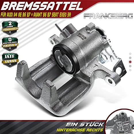 Original TRW Bremssattel Bremszange Hinten Links Audi A4 B6 B7 Seat Exeo 3R ST