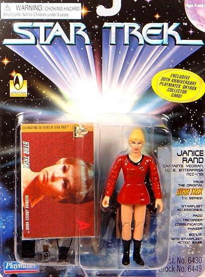 JANICE borde Captain s Yeoman – USS Enterprise – Figura de acción Star Trek – The Next Generation de Playmates: Amazon.es: Juguetes y juegos