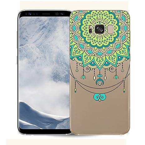 Funda TPU para Samsung Galaxy S8 Plus G955, Carcasa Samsung Galaxy S8 Plus, JAWSEU Samsung Galaxy S8 Plus Carcasa Caso Cover Ultra Delgado Creativa ...