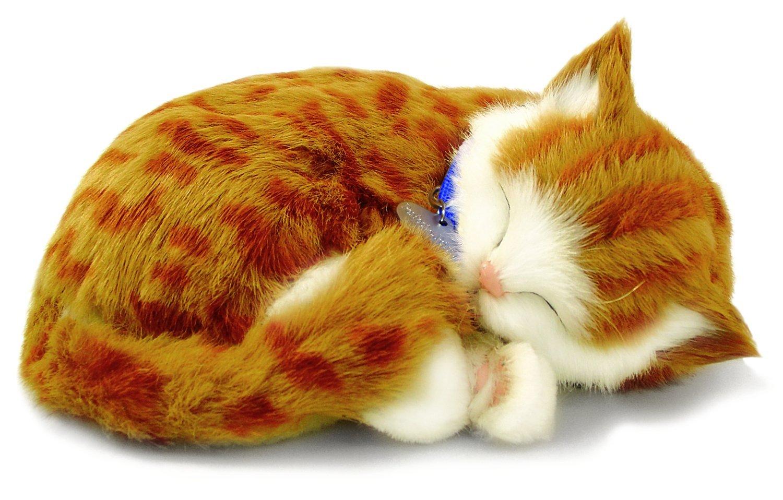 pp Perfect Petzzz 65431 - Gattino che dorme e respira, colore: Rosso tigrato 5519724