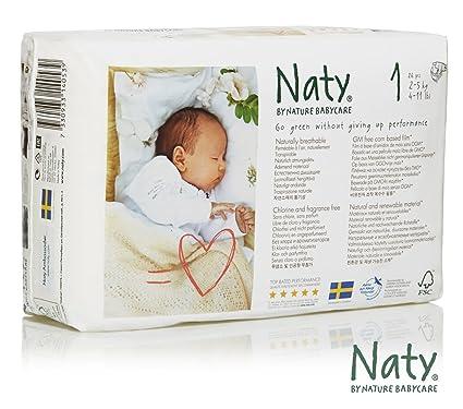 Nature Babycare Pañales desechables, talla 1