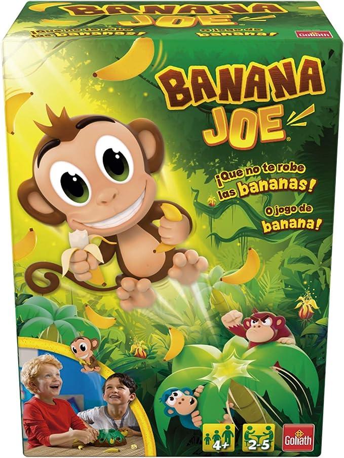 Goliath Banana Joe. Róbale con Cuidado los plátanos a Este Monito Saltarín… ¡o saltará por los Aires, Color marrón (30998): Amazon.es: Juguetes y juegos