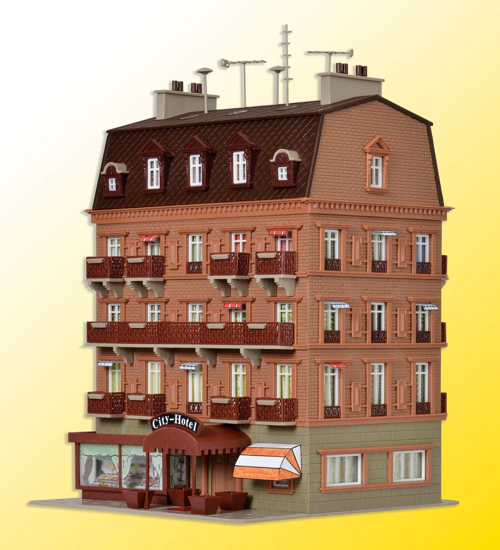 Vollmer 43782 City-Hotel mit Inneneinrichtung