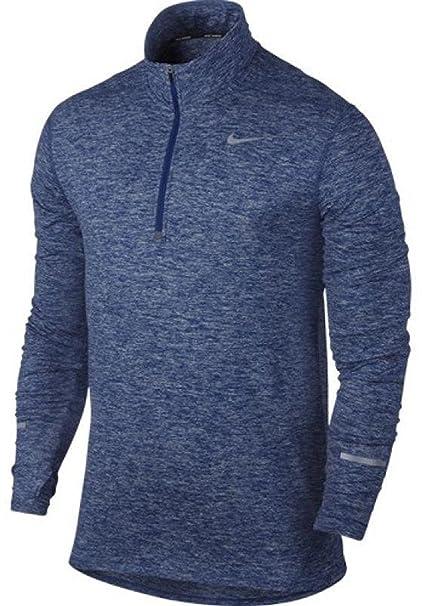 9b8567e3 Amazon.com: Nike Men's Dri-Fit Element Half Zip - Small - Deep Royal ...