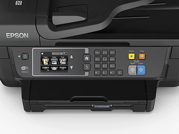 Epson Workforce WF-2760DWF - Impresora multifunción 4 en 1 (WiFi ...