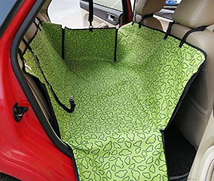 Dog Carriers Pet Carriers Oxford Fabric Paw Pattern Car Pet Seat Cover Dog Car Back Seat Carrier Waterproof Pet Mat Hammock Cushion Protector
