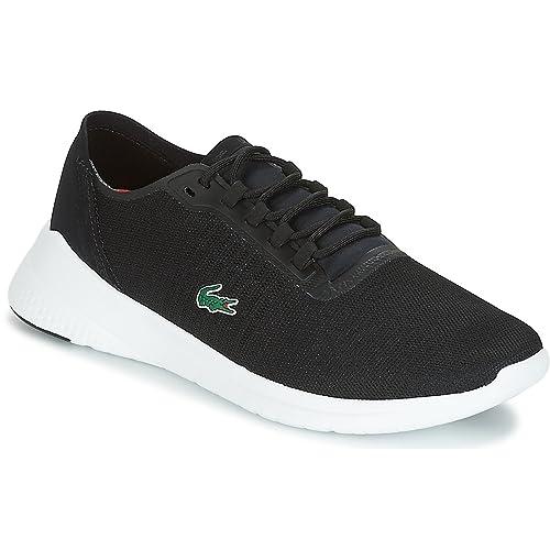 Zapatilla Lacoste LT FIT 118 4 Negro 237 35SPM0028: Amazon.es: Zapatos y complementos