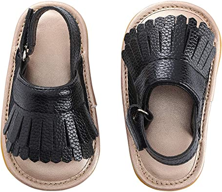7 Colors Infant Baby Sandals Tassels Kids Crib Shoes Baby Boy Girls Summer Shoes
