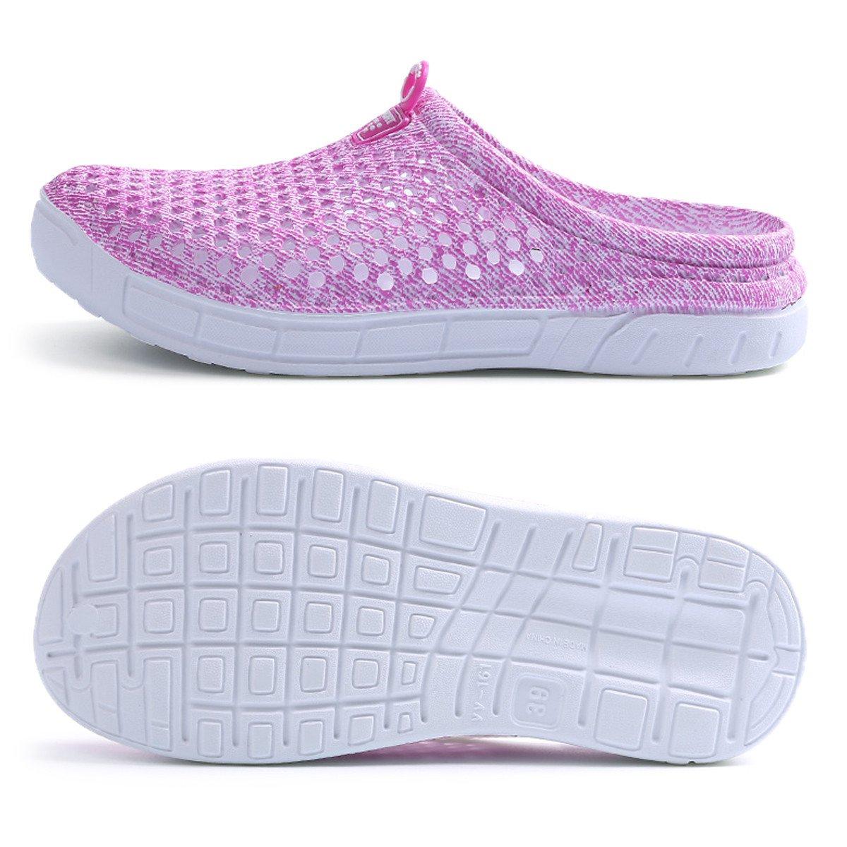 Ginjang Women's Garden Clogs Shoes Slip-on Slippers Sandals(39/Pink) by Ginjang (Image #2)