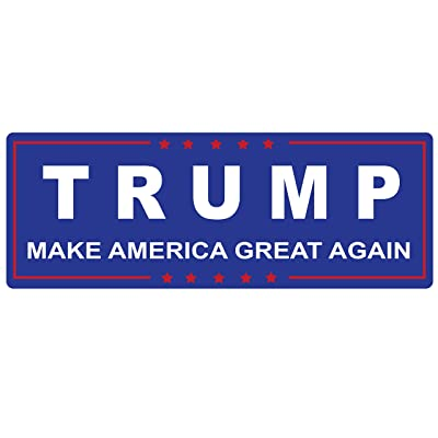 Trump Making America Great Again - Bumper Sticker Window Decal Vinyl - Donald for Presidential Election 2016: Automotive