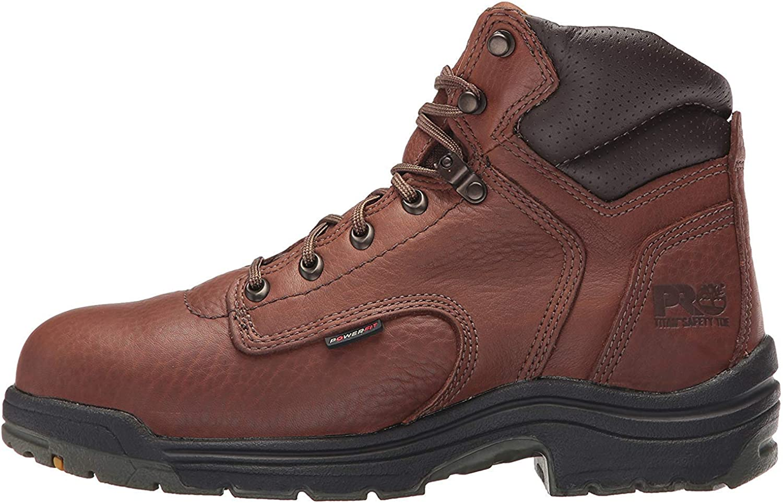 Titan Safety Boots - Coffee - 7.0 - W