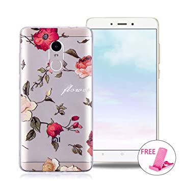All Do Funda XiaoMi RedMi Note 4/4X, Carcasa Transparente Funda de Silicona TPU Caja Flexible Suave Carcasa Transparente Claro Funda Protectora Gel ...