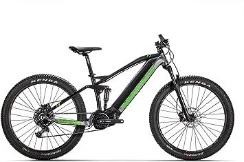 Conor WRC E9 27,5 Doble Plus E7000 Bicicleta Ciclismo, Adultos Unisex, Negro/Verde (Multicolor), MD: Amazon.es: Deportes y aire libre
