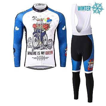 Thriller Rider Sports® Hombre Outdoor Sport térmicamente Montaña Invierno Chaqueta de manga larga y pantalón
