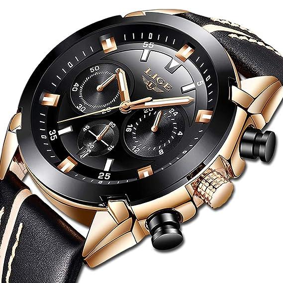 entrega rápida marca popular calzado relojes hombre amazon