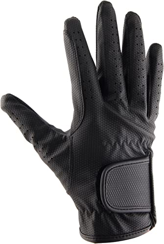 Leather Equestrian Horse Riding Gloves for Kids&Youth [Allness] Picture