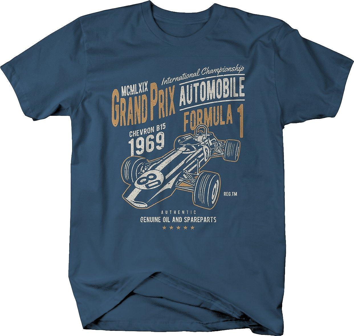 M22 Grand Prix Racing 1969 Vintage Formula 1 Tshirt