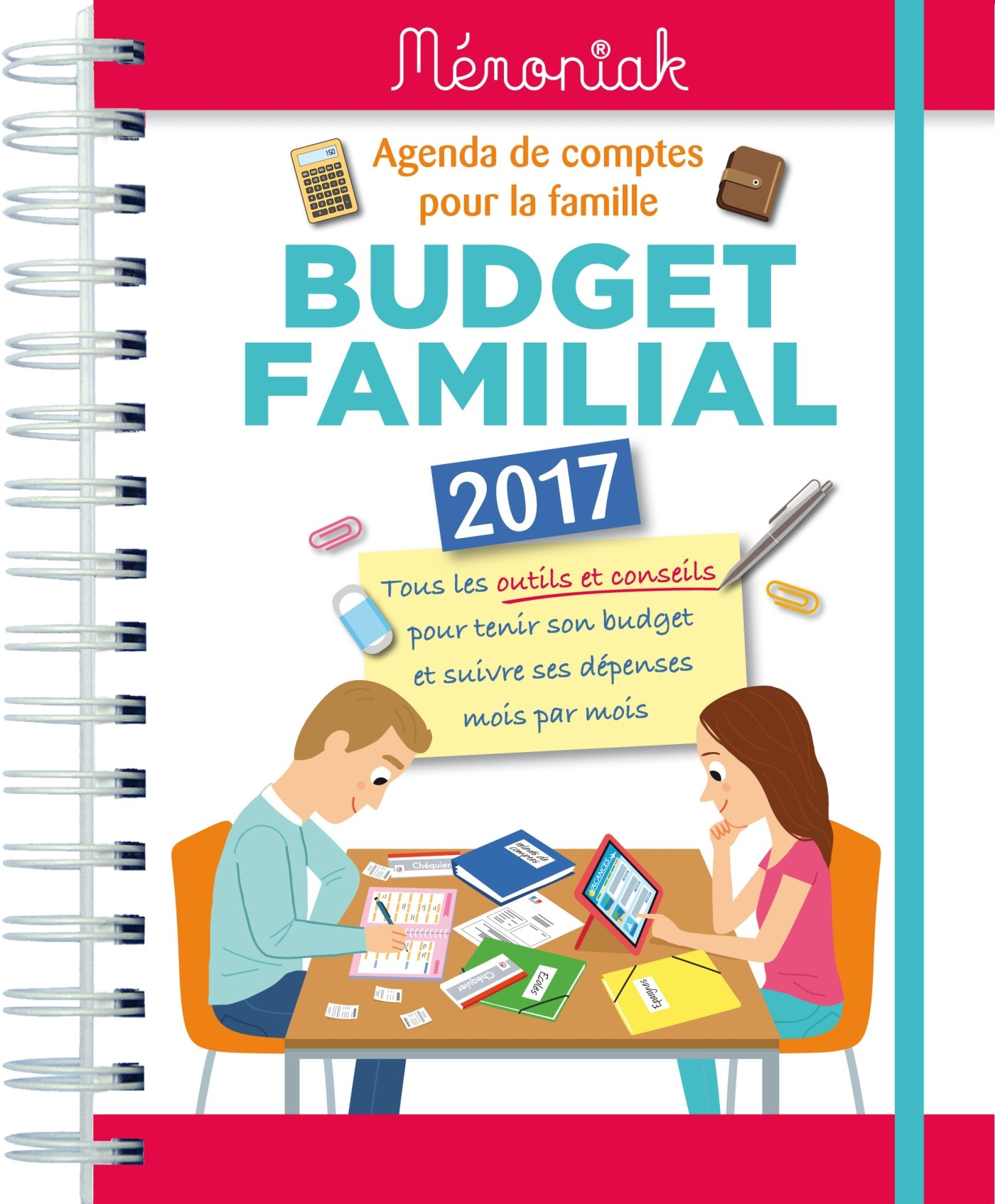 Top Amazon.fr - Budget familial Mémoniak 2017 - Collectif - Livres PQ95