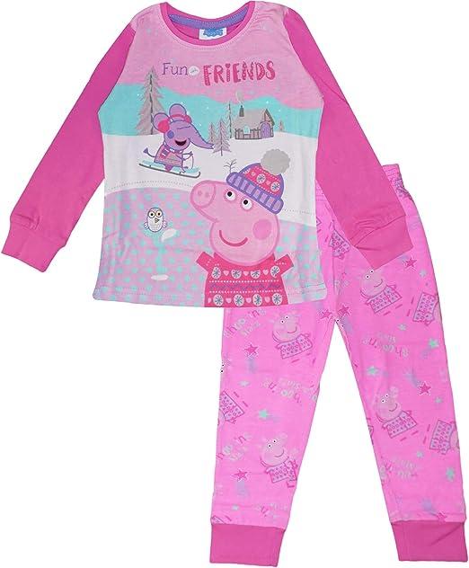 Peppa Pig Pijama de algodón para niñas: Amazon.es: Ropa y accesorios
