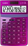 カシオ 電卓 ジャストタイプ 12桁 ピンク JF-Z200PK-N