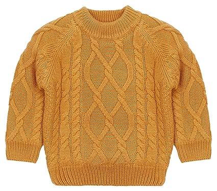 DEMU Baby-Jungen Weste Strickweste /Ärmelloser Pullover Sweatshirt V-Ausschnitt Sweater