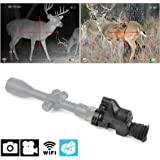 bestsight DIY Rifle Night Vision Scope with CCD and Flashlight for Riflescope Outdoor Night Hunting Optics