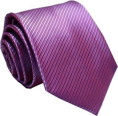 UMEE Corbatas Hombres Clásico Color Puro Compañero Usable De Los ...