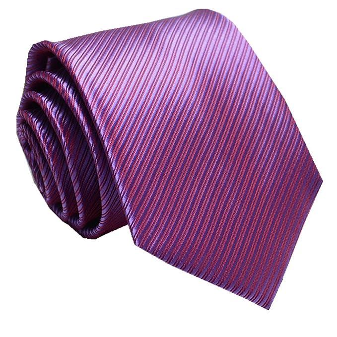 SALLYDREAM Corbata de Seda para Hombre Casual Corbata Para Fiesta Para los Negocios Sghqj