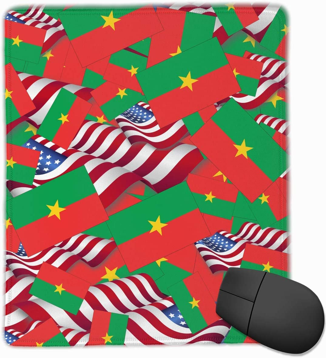 Alfombrilla de ratón Bandera de Burkina Faso con la Bandera de ...