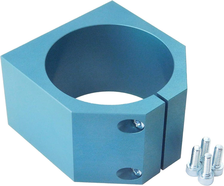 80mm CNC-Spindelhalterung Klammer Spindelhalter Spindelaufnahme für