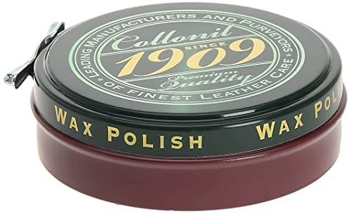 Collonil 1909 wax polish 75ml bordeaux burgundy : amazon.de